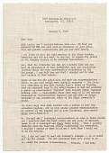 view Chuck Stone letter to Romare Bearden digital asset number 1