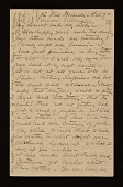 view Cecilia Beaux, Paris, France letter to Ernesta Beaux digital asset number 1
