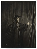 view Cecilia Beaux in cap and gown digital asset number 1