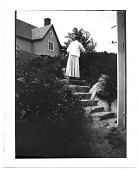 view Cecilia Beaux on the steps of Green Alley digital asset number 1