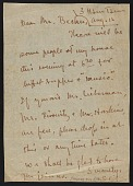view Madame Sun Yat-sen letter to Fred Becker digital asset number 1