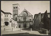 view Unidentified sender, Perugia, Italy postcard to Miriam Beerman, Paris, France digital asset number 1