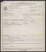 view United States Government grant authorization digital asset number 1