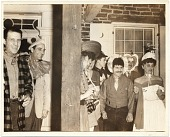 view Costumed group at a party in Woodstock, NY digital asset number 1