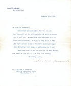 view Theodore Roosevelt, Washington, D.C. letter to Clifford Berryman, Washington, D.C. digital asset number 1