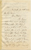 view Albert Bierstadt letter collection, 1860-1900 digital asset number 1