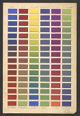 view Color chart digital asset number 1