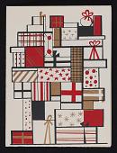 view Gordon Kensler christmas card to Kathleen Blackshear digital asset number 1