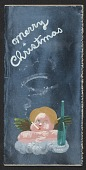 view Julia Thecla holiday card to Kathleen Blackshear and Ethel Spears digital asset number 1