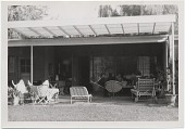 view Arnold Blanch and others on an outdoor patio digital asset number 1