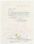 view Enrique Riverón, Miami, Fla. to Giulio V. Blanc, New York, N.Y. digital asset number 1