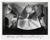 view Francois Baschet with his sculpture digital asset number 1