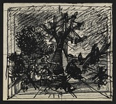 view Study for <em>Tasso's oak</em> by Peter Blume digital asset number 1