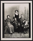 view Peter Blume (far right) and family digital asset number 1