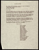 view Artists' protest letter to James Johnson Sweeney, New York, N.Y. digital asset number 1
