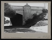"view Photograph of Chaz Bojorquez pictographic tag ""Señor Suerte"" under bridge, Los Angeles, California digital asset number 1"
