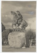 view Monument dedicated to Rough Rider Buckey O'Neill, by Solon Borglum in Prescott, Arizona digital asset number 1