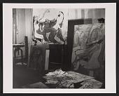 view Willem de Kooning's studio digital asset number 1