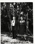 view Photograph of Yvor Winter and Janet Lewis in Palo Alto, California digital asset number 1