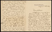 view Nancy Douglas Brush letter to William Robert Pearmain digital asset number 1