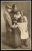 view Mary Taylor Brush with her children Gerome, Nancy, Tribbie, and Georgia digital asset number 1