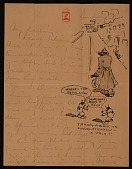 view Paul Bransom, Washington, D.C. letter to Grace Bransom, Boston, Mass. digital asset number 1