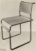 view Tubular steel chair designed by Marcel Breuer digital asset number 1