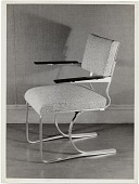 view Aluminum chair designed by Marcel Breuer digital asset number 1