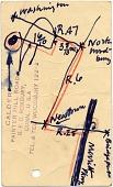 view Alexander Calder postcard to Marcel Breuer digital asset number 1