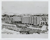 view A new hotel for Kabul. Marcel Breuer, Robert F. Gatje, and Walter Brune & Partner, architects digital asset number 1