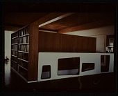 view Gagarin House I, Conn., designed by Marcel Breuer. Interior view digital asset number 1