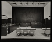 view Strom Thurmond Federal Office Building and Courthouse designed by Marcel Breuer. View of disctrict court room digital asset number 1