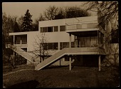 view Harnischmacher House in Wiesbaden, Germany, designed by Marcel Breuer digital asset number 1
