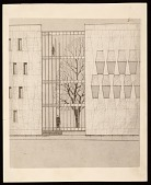 view Concept drawing of the U.S. Embassy in The Hague, Netherlands digital asset number 1