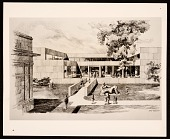 view Concept drawing of the Heckscher Museum expansion project digital asset number 1