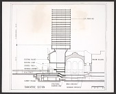 view Grand Central Air Rights Building, proposal section drawing digital asset number 1