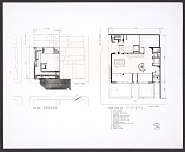 view Photograph of plans for the ground floor of the Whitney Museum of American Art digital asset number 1