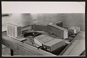 view A model of the proposed UNESCO headquarters building in Paris digital asset number 1