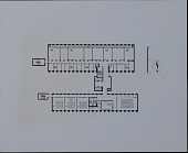 view Typical floor plan for Technology Building II at New York University, University Heights Campus, Bronx, New York digital asset number 1