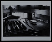 view Interior photograph of chapel at the Baldegg Convent near Luzerne, Switzerland digital asset number 1