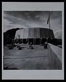 view Exterior photograph of Grand Coulee Dam Visitor Arrival Center, Columbia River Basin Project, Grand Coulee, Washington digital asset number 1