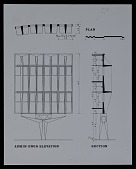 view Plan for the administrative and engineering elevation, IBM offices, laboratories, and manufacturing facility in Boca Raton, Florida digital asset number 1