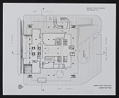 view Street level floor plan of the Department of Health, Education, and Welfare (HEW) Headquarters Building, Hubert H. Humphrey Building, Washington, D.C. digital asset number 1