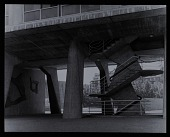 view Photograph of emergency staircase, UNESCO Headquarter, Paris, France digital asset number 1