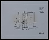 view Floor plan of the plaza level of the Technology Building II for New York University, Bronx Campus, Bronx, New York digital asset number 1
