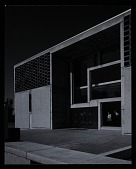view Exterior photograph of University Library at St. John's Abbey and University, Collegeville, Minnesota digital asset number 1