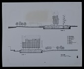 view Cross sections X-X and Y-Y of the Campus Center at the University of Massachusetts, Amherst digital asset number 1