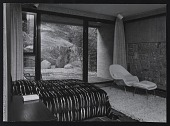 view Photograph of Dr. Koerfer's bedroom and interior court of Koerfer House, Moscia, Switzerland digital asset number 1