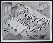 view Photograph of site plan for 175 Park Avenue Project I, New York City digital asset number 1