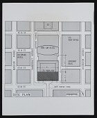 view Photograph of site plan for 175 Park Avenue Project II, New York City digital asset number 1